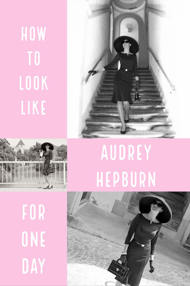 How to look like Audrey Hepburn in Breakfast at Tiffany's for one day: Tips by RetroCat