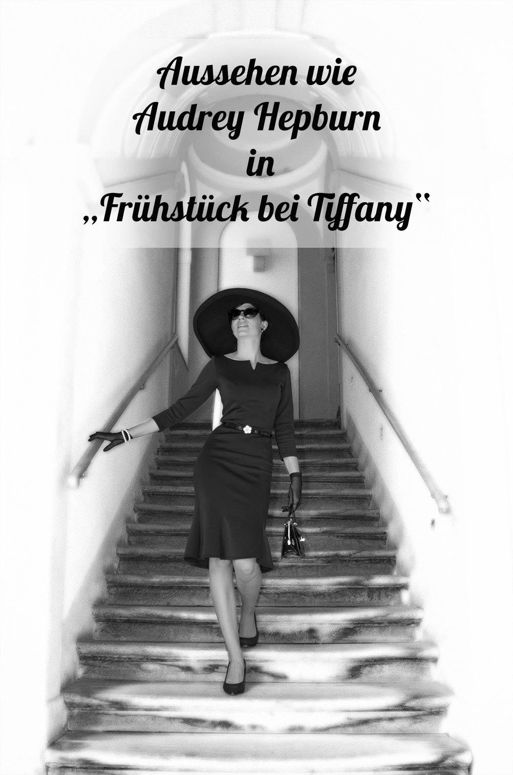 """Einmal aussehen wie Audrey Hepburn: Der Look von Holly Golightly in """"Frühstück bei Tiffany"""""""