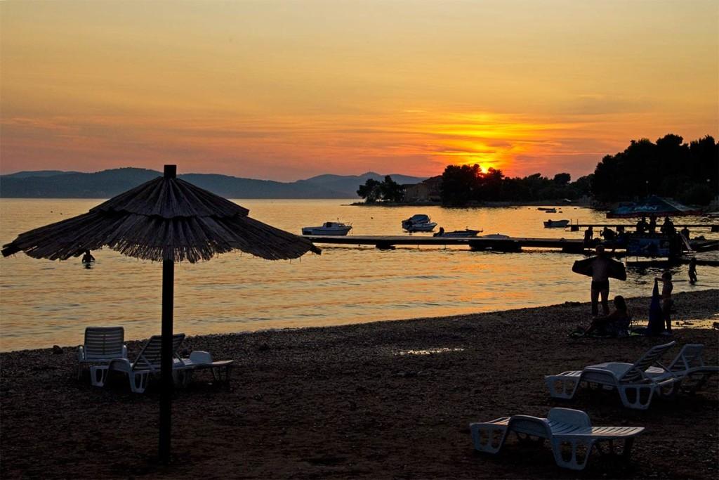 Ein wundervoller Strand in Kroatien