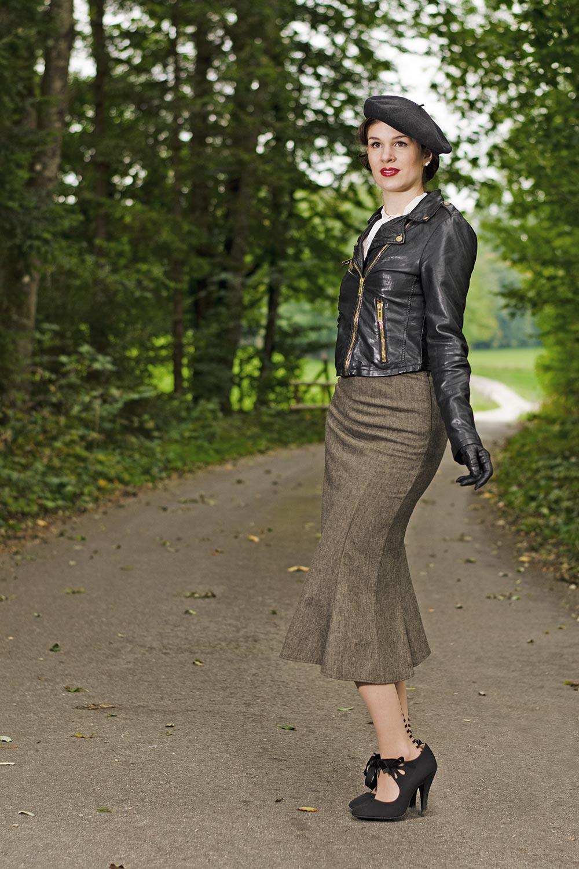 zur ck in die 30er ein schickes outfit von the house of foxy. Black Bedroom Furniture Sets. Home Design Ideas