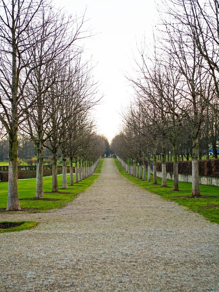 Die Parkanlage des Residenzschlosses Ludwigsburg
