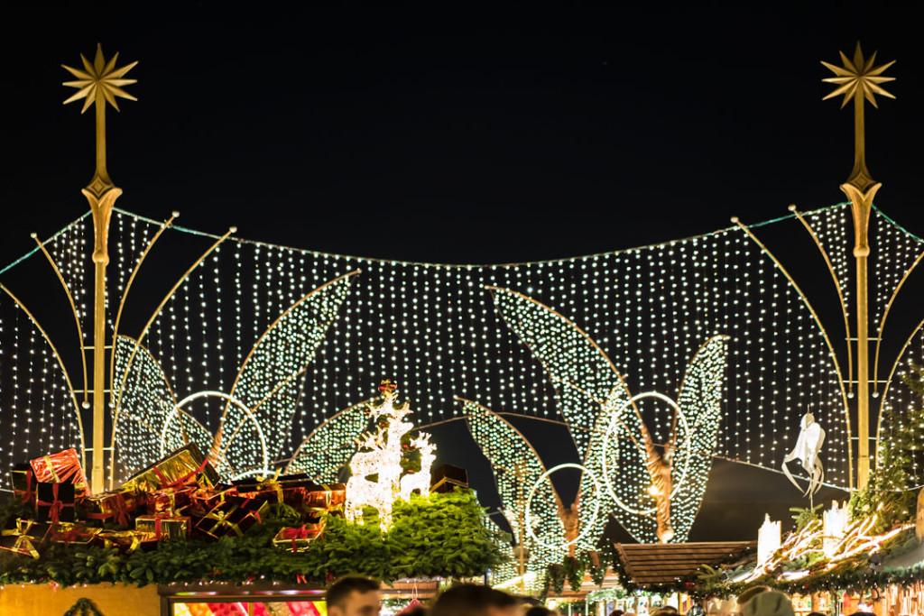 Der Ludwigsburger Weihnachtsmarkt