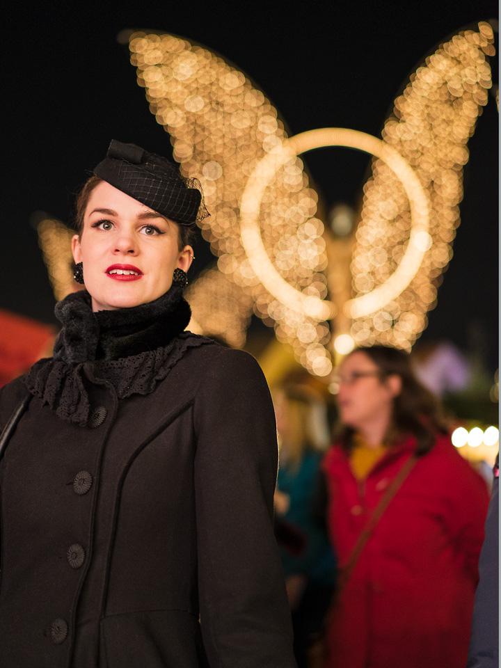 RetroCat auf dem Ludwigsburger Weihnachtsmarkt