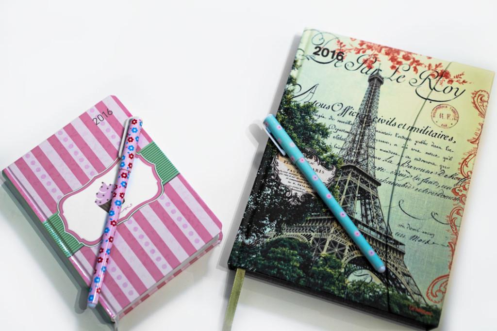 Zwei wundervolle Taschenkalender für 2016