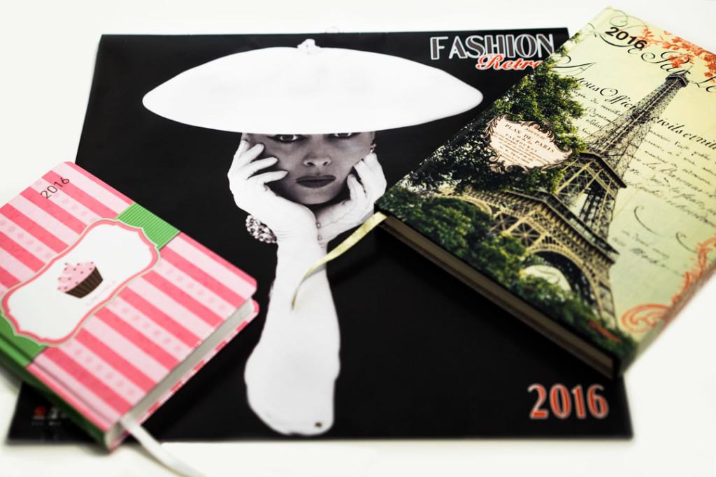 Drei stylishe Kalender für 2016