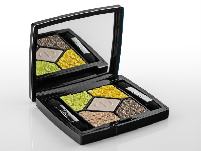 "Die ""5 Couleurs Glowing Gardens""-Palette von Dior in ""Rose Garden"""