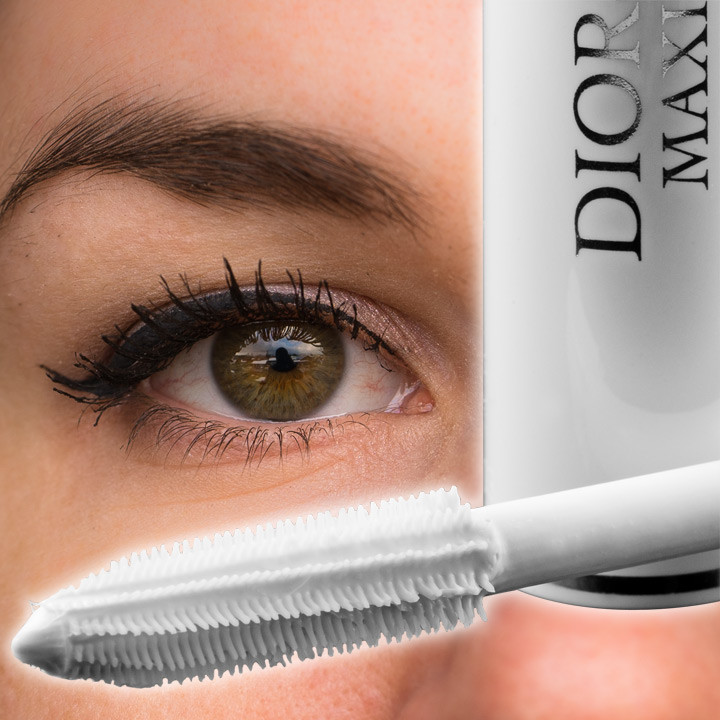 RetroCats Augen-Make-up mit dem Diorshow Maximizer