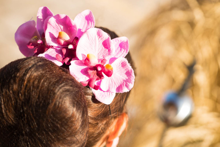 Flower Power: Beautiful Hair Flowers by Sophisticated Lady