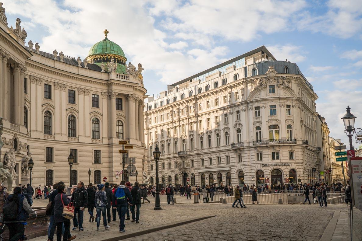 Die Alte Hofburg in Wien