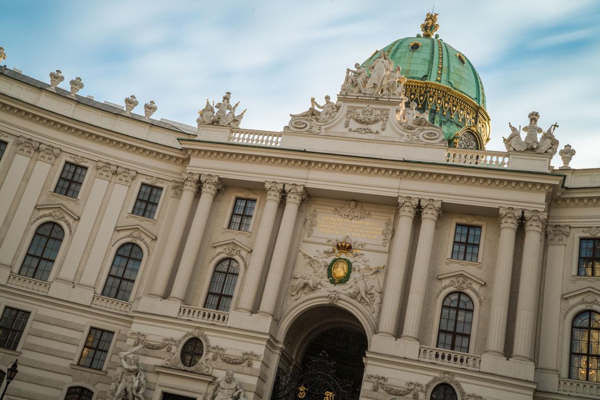 Die Alte Hofburg in Wien im Detail