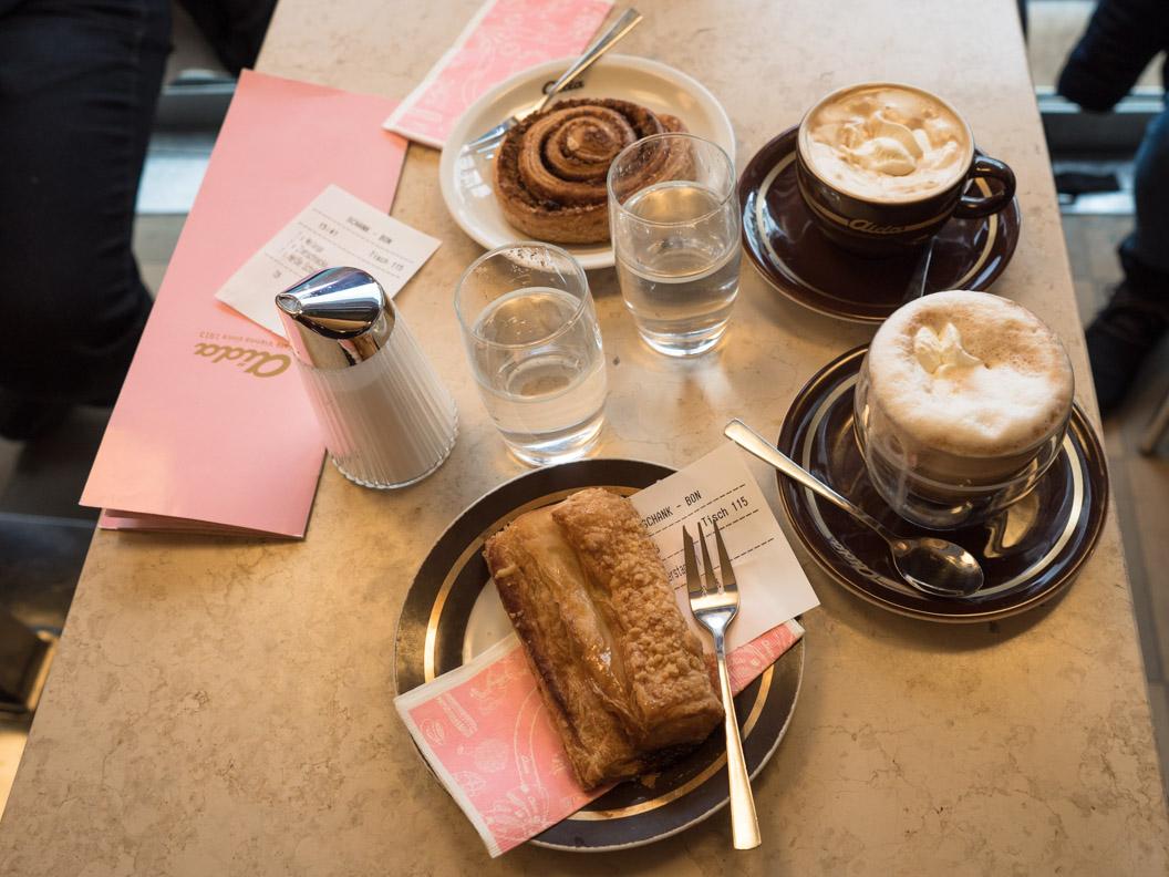 Ein niedliches Café mitten in Wien