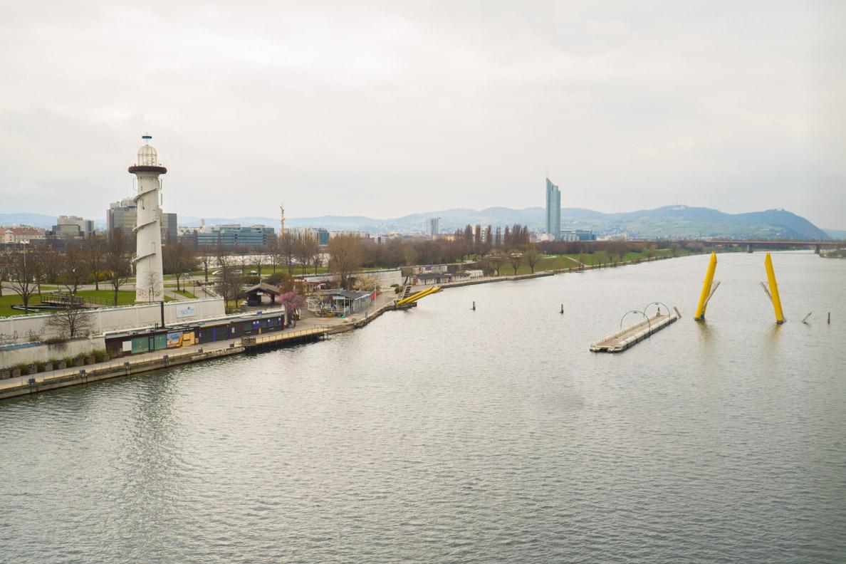 Die Donauinsel in Wien