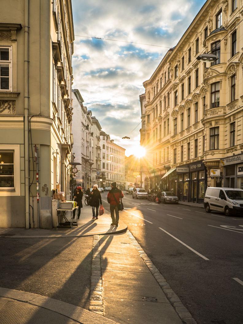 Eine Gasse in Wien