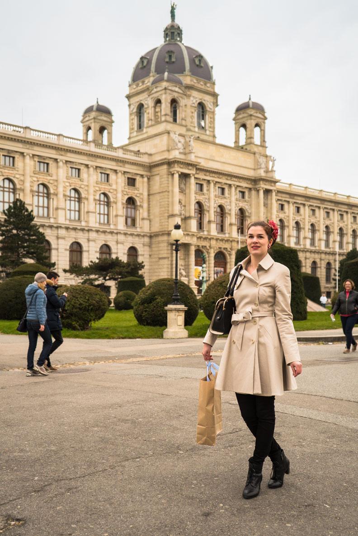 RetroCat im Museumsviertel von Wien