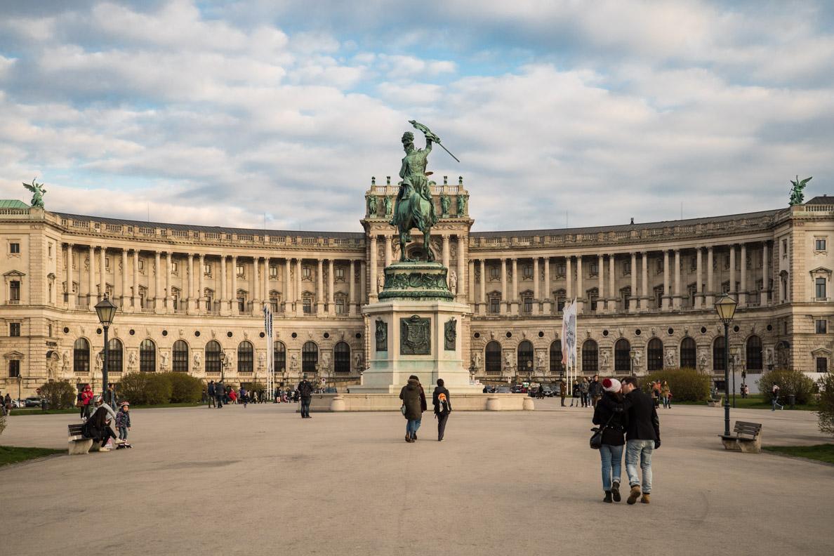 Die Neue Hofburg in Wien