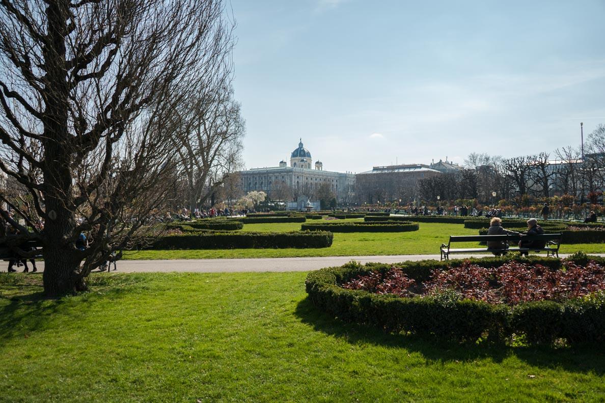 Ein Park mitten in Wien