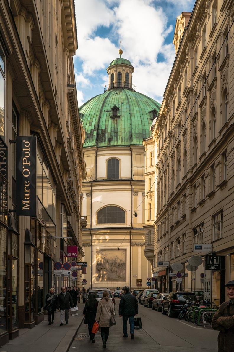 Die Peterskirche in Wien
