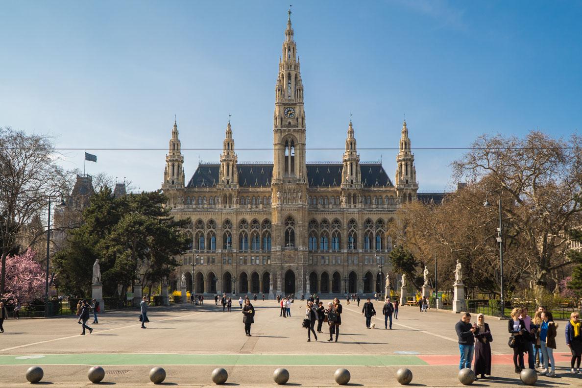 Das Rathaus von Wien