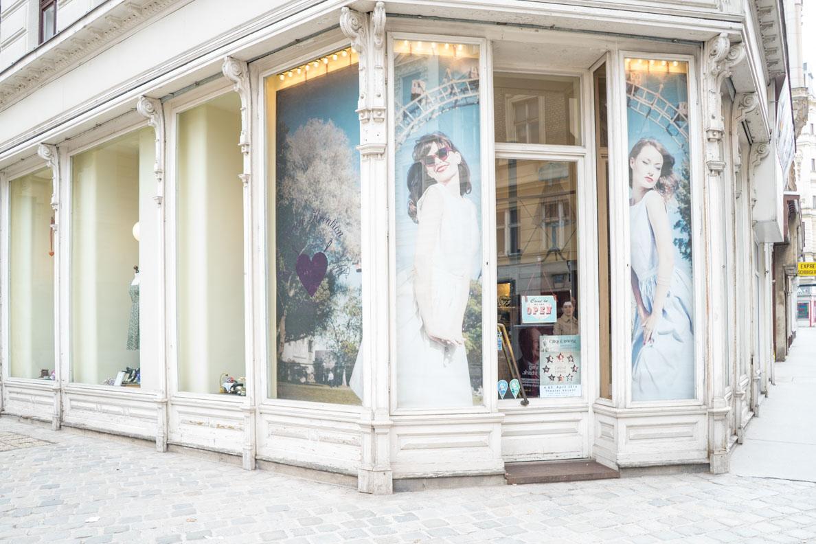 Der Eingang des Goldstück Vienna