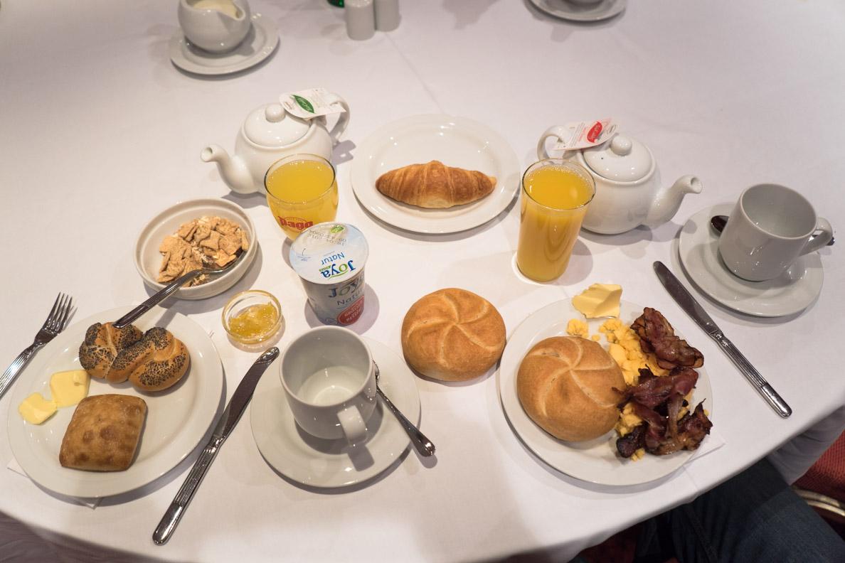 Das Frühstück im Arcotel Wimberger in Wien