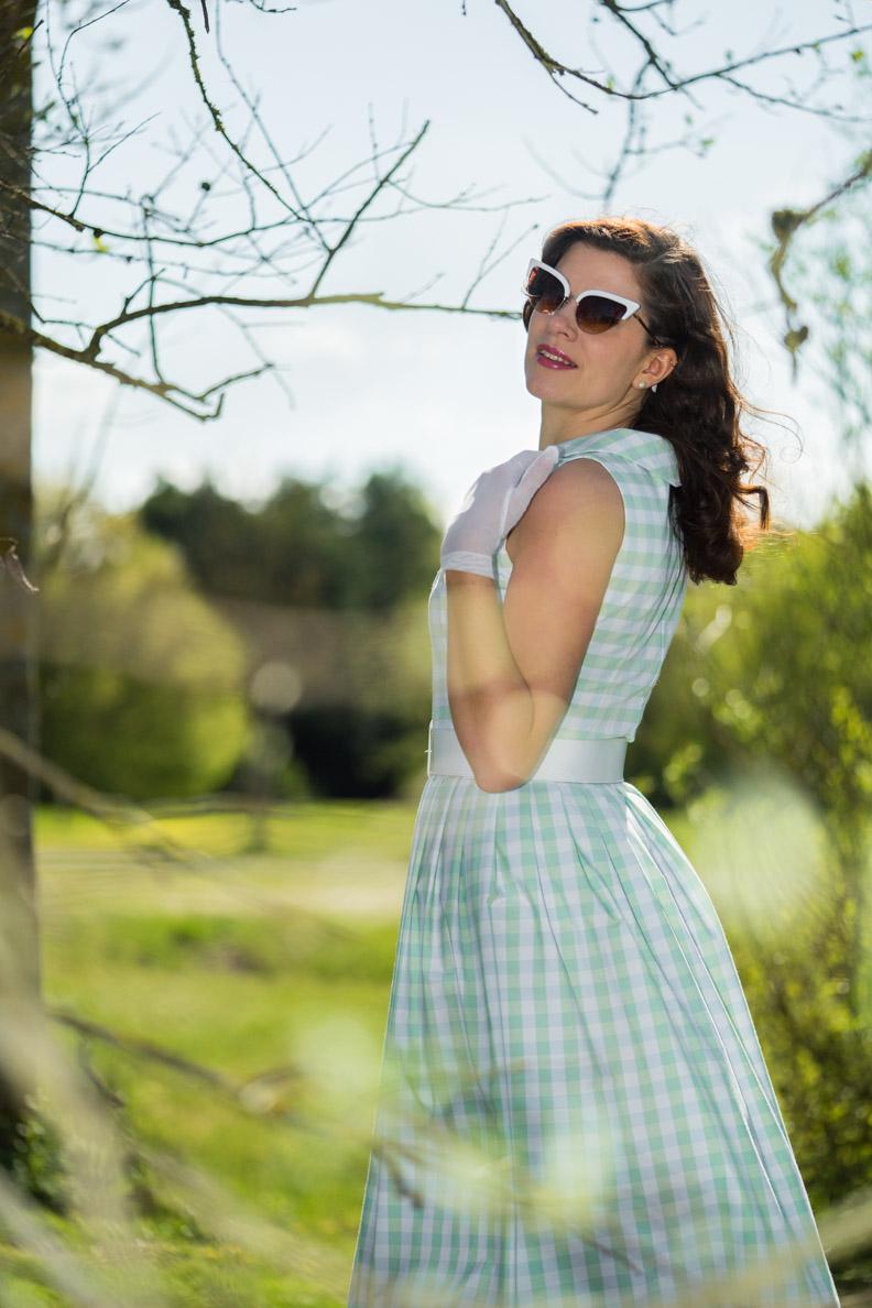 """RetroCat im """"Sophia""""-Kleid von Wiener Kreation"""
