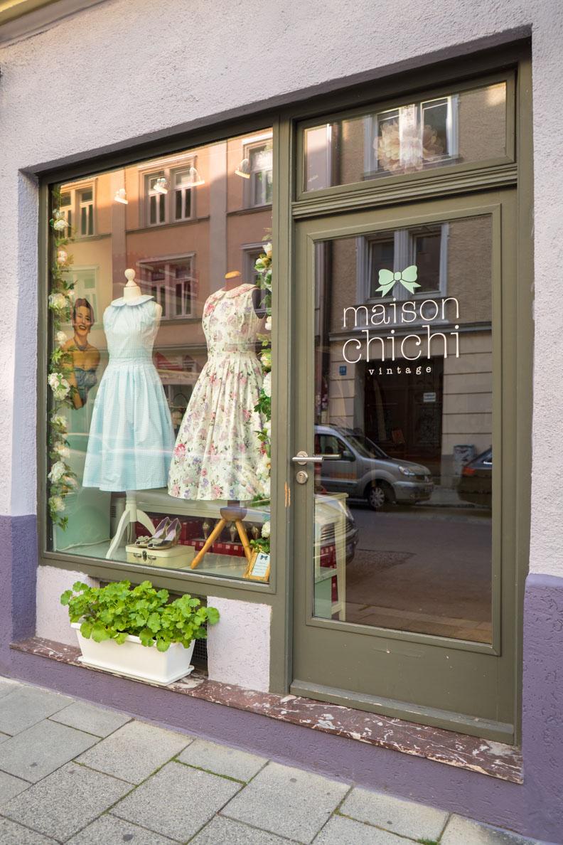 Der Vintage-Laden Maison Chi Chi Vintage in München