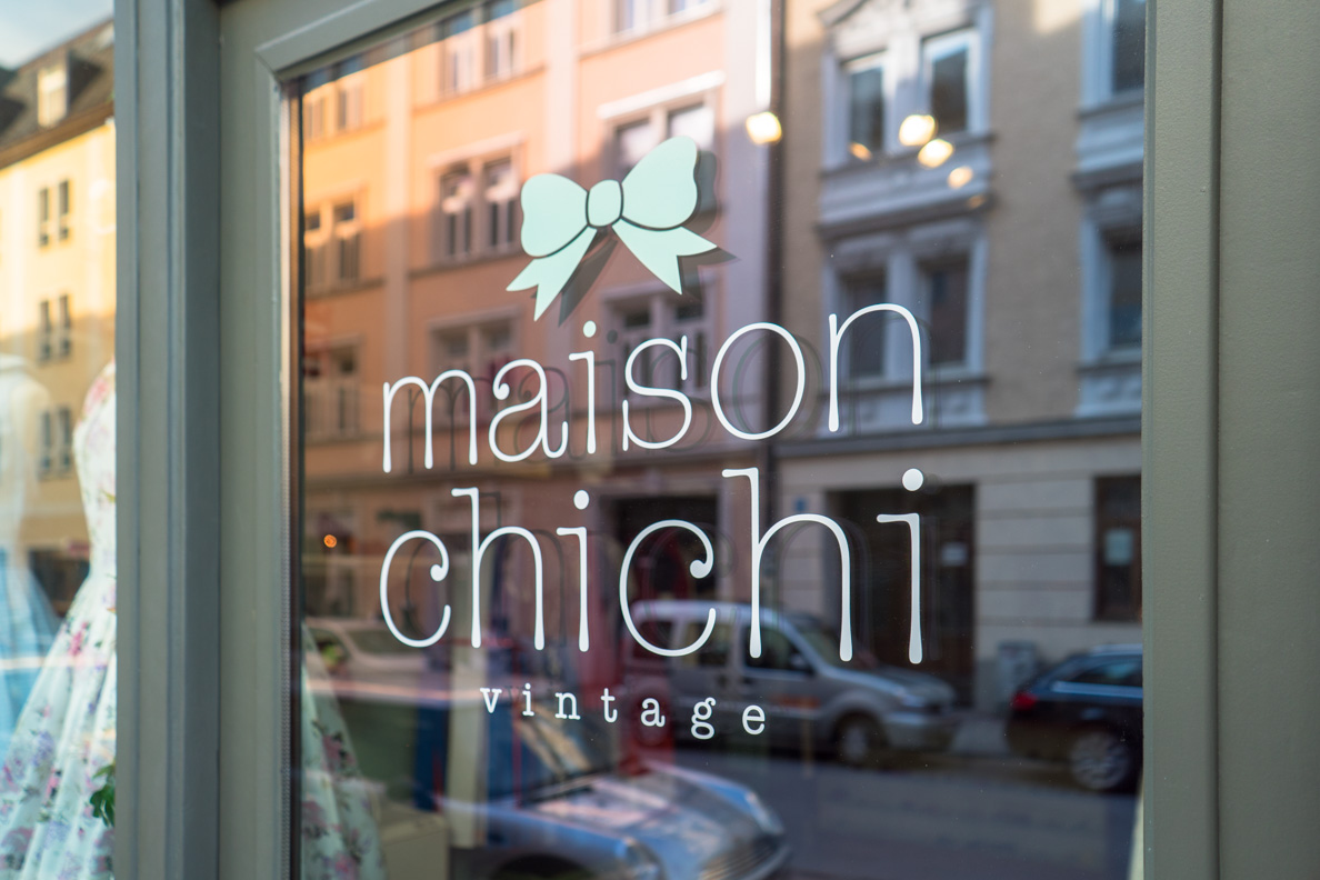 The vintage shop Maison Chi Chi Vintage in Munich