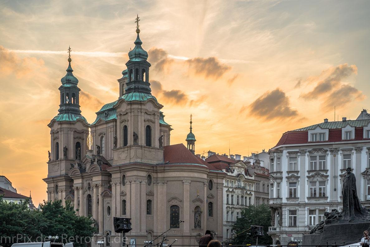 Die St. Nikolaus Kirche in Prag