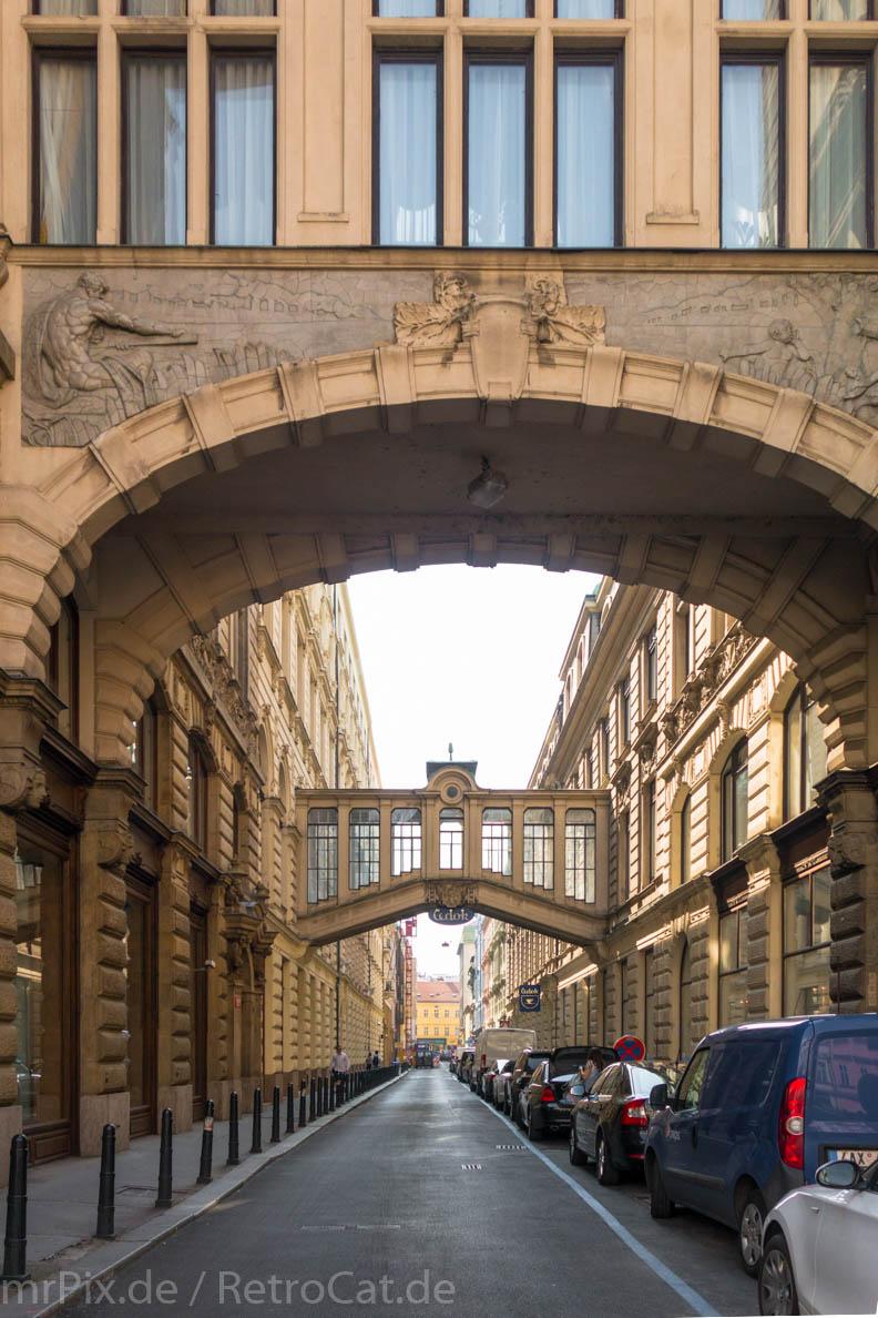 Gebäude in der Prager Altstadt