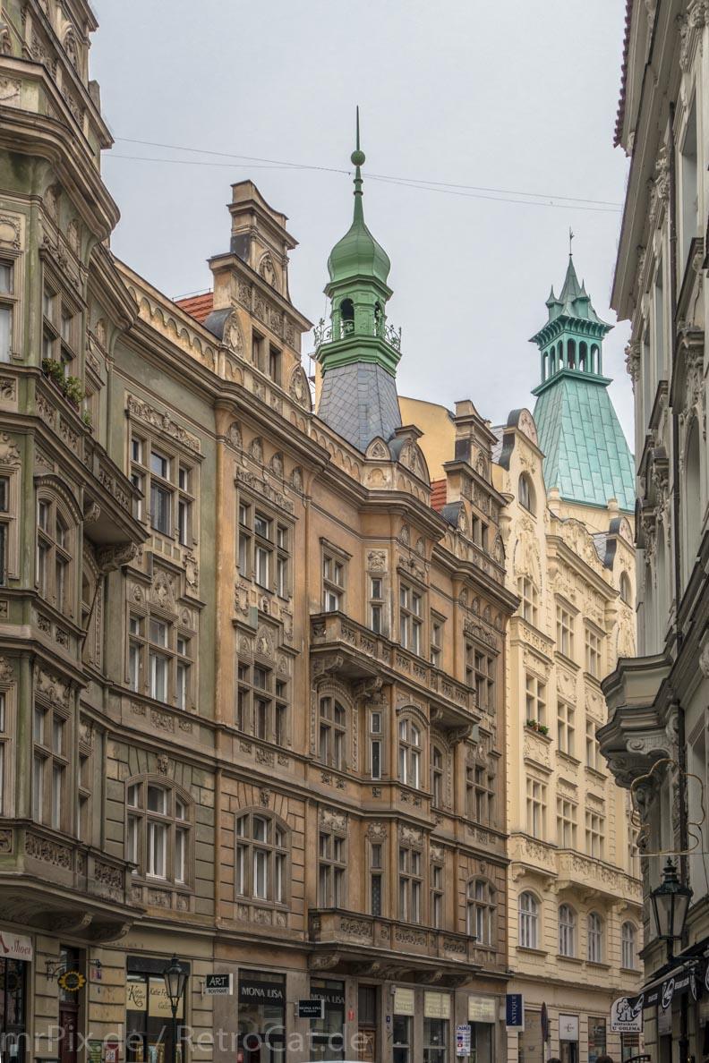 Alte Gebäude in Prag