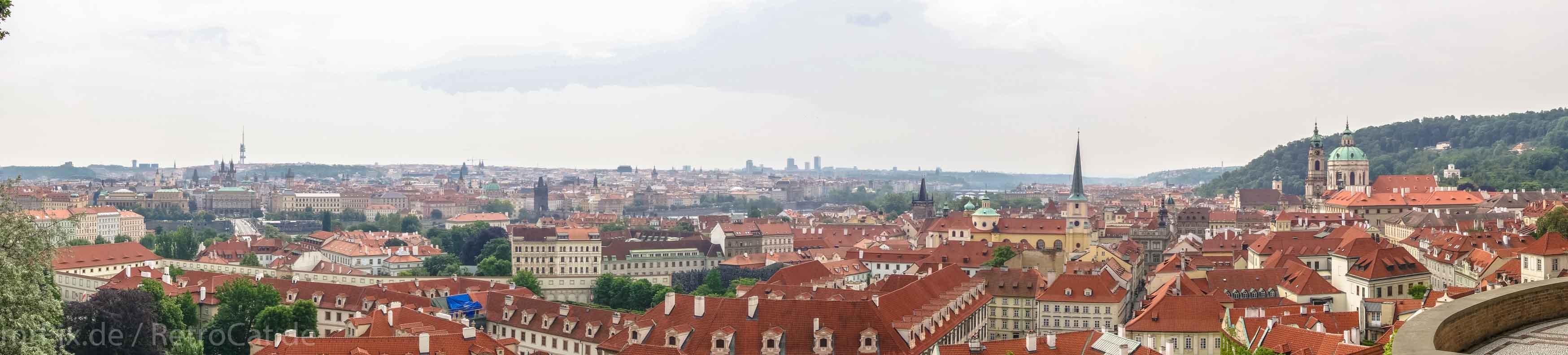 Panorama-Aufnahme von Prag