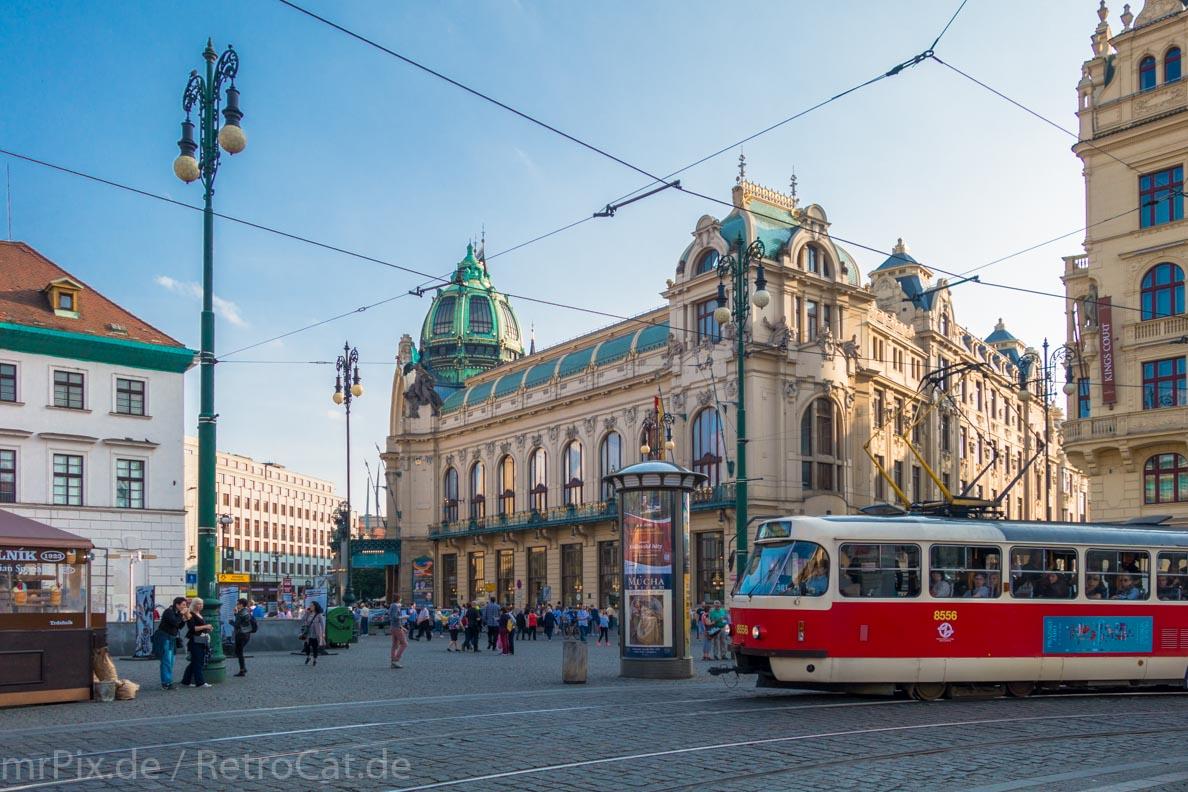 Platz der Republik in Prag