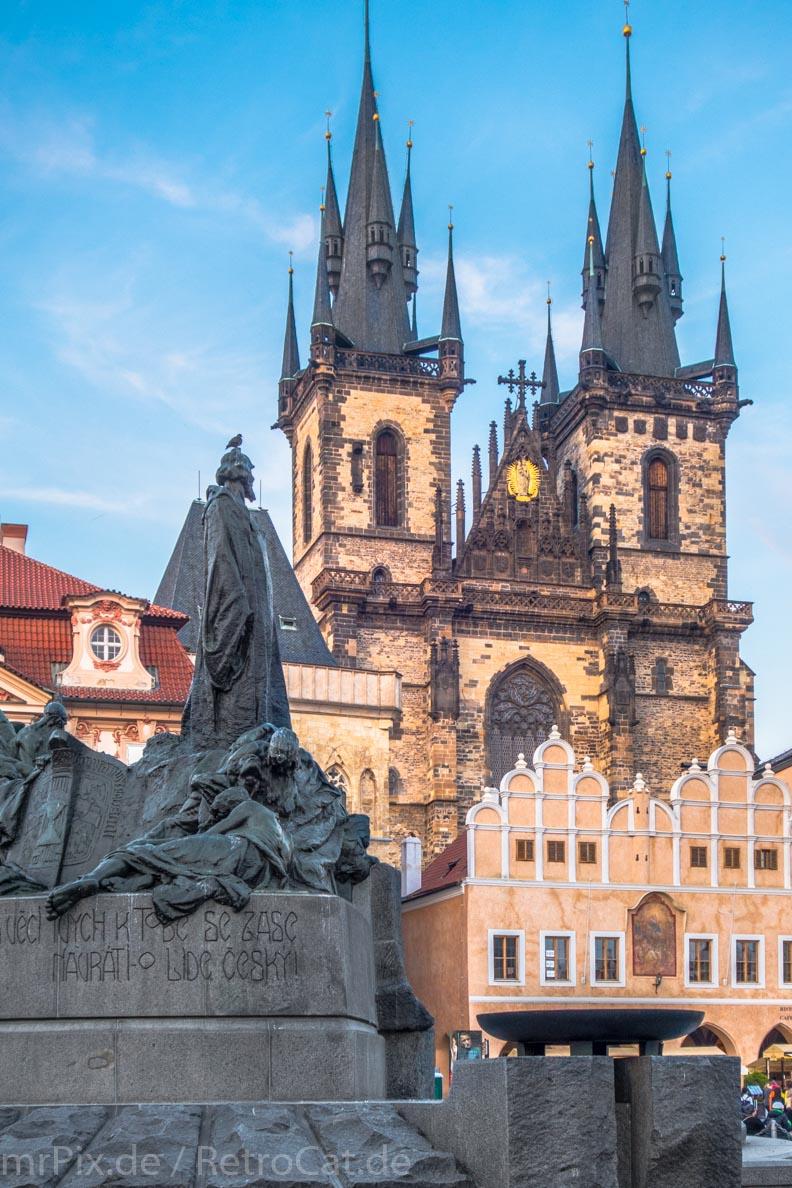 Die Teynkirche in Prag