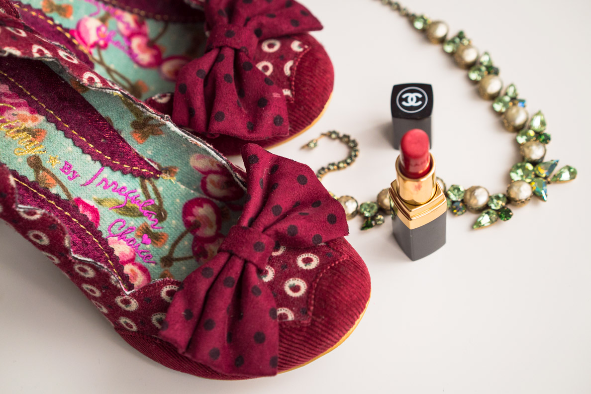 Rote Retro-Pumps von Irregular Choice