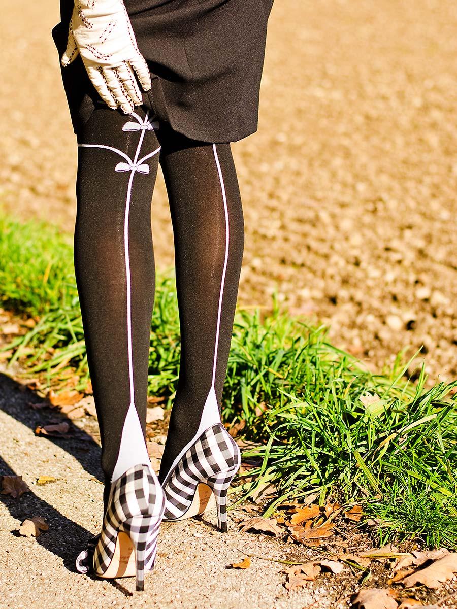 RetroCats Schuhe mit Karo-Muster von Lena Hoschek