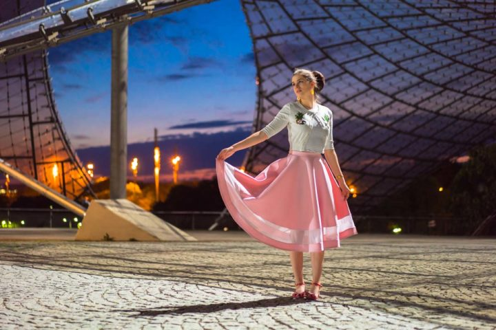 A stylish Festival Retro-Outfit for Tollwood Munich