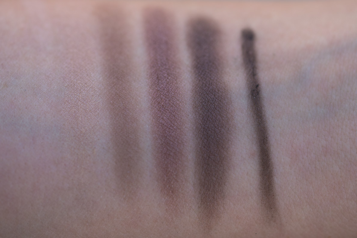 Dior Eye Reviver Palette Swatches