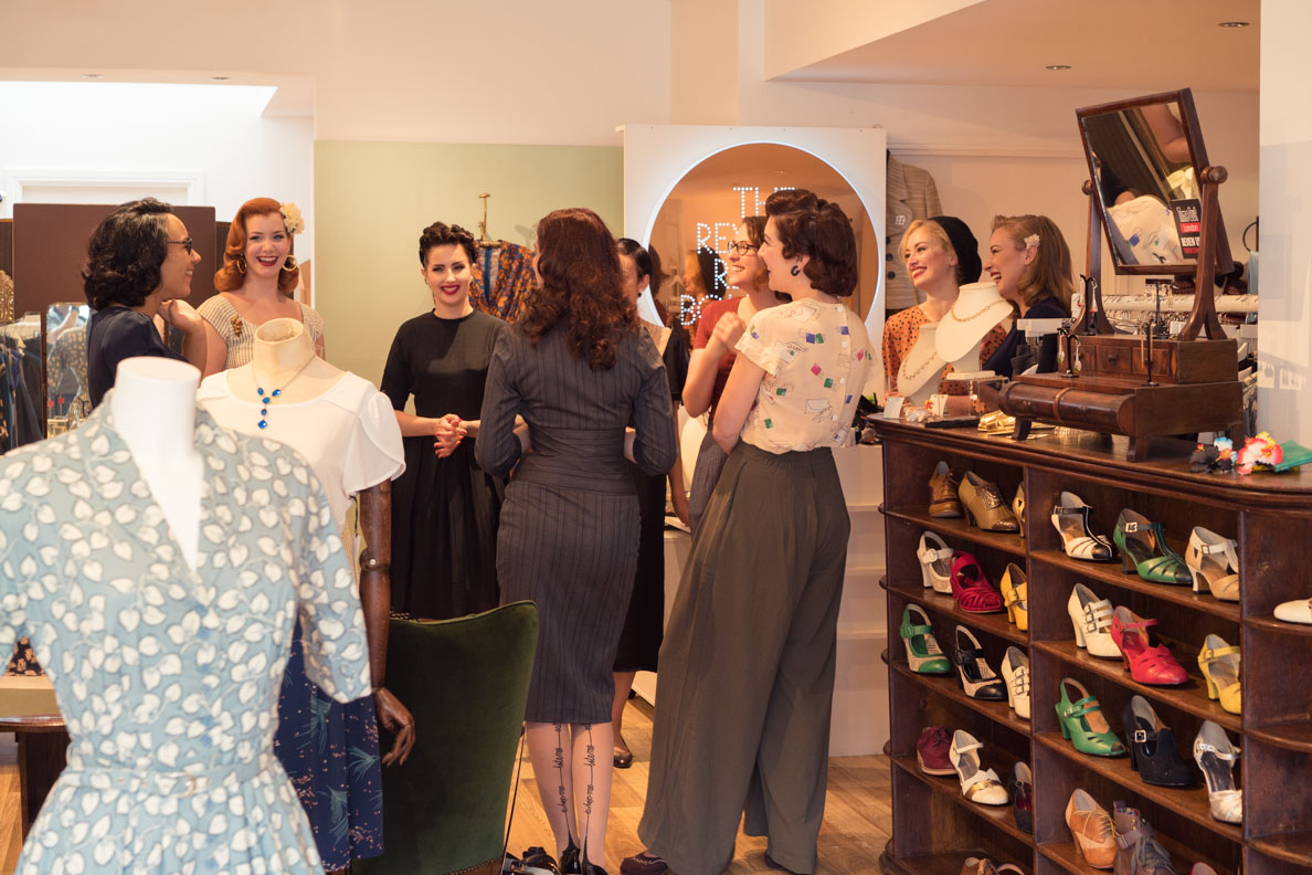 RetroCat beim Blogger-Event von Revival Retro in London