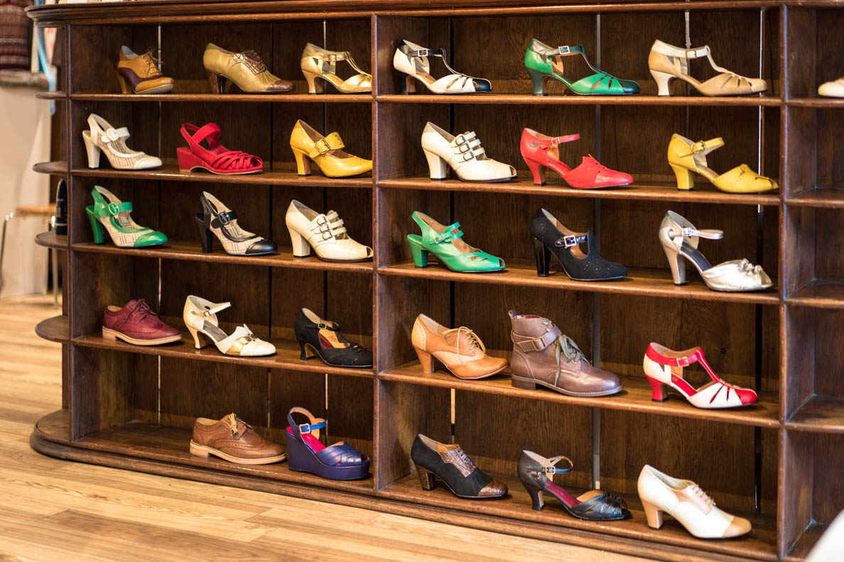 Tolle Retro-Schuhe bei Revival Retro in London