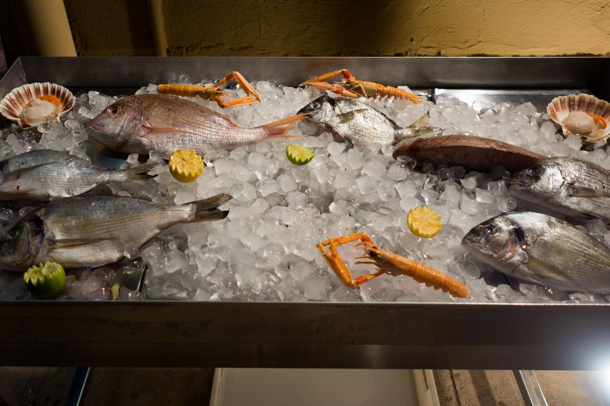 Frischer Fisch und Meeresfrüchte aus Kroatien