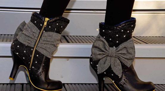 Zauberhafte Retro-Stiefel für Herbst und Winter: