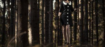 """Ein schaurig-schöner Halloween-Look mit dem """"Nightmare Before Christmas"""" Kleid"""