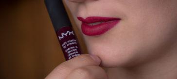 """Review: Beerige Lippen mit der NYX Soft Matte Lip Cream in """"Copenhagen"""""""
