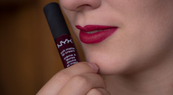 Review: Beerige Lippen mit der NYX Soft Matte Lip Cream in