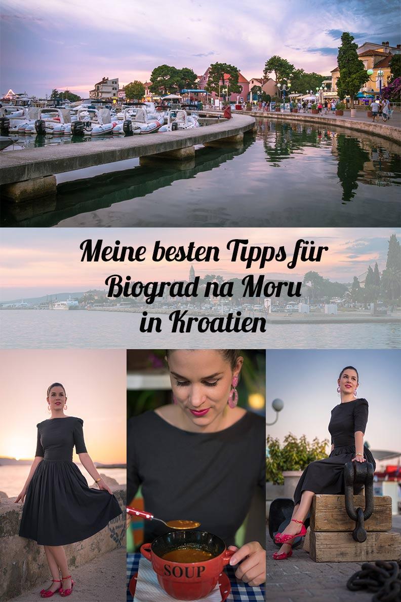 Die besten Tipps für die Hafenstadt Biograd na Moru in Kroatien