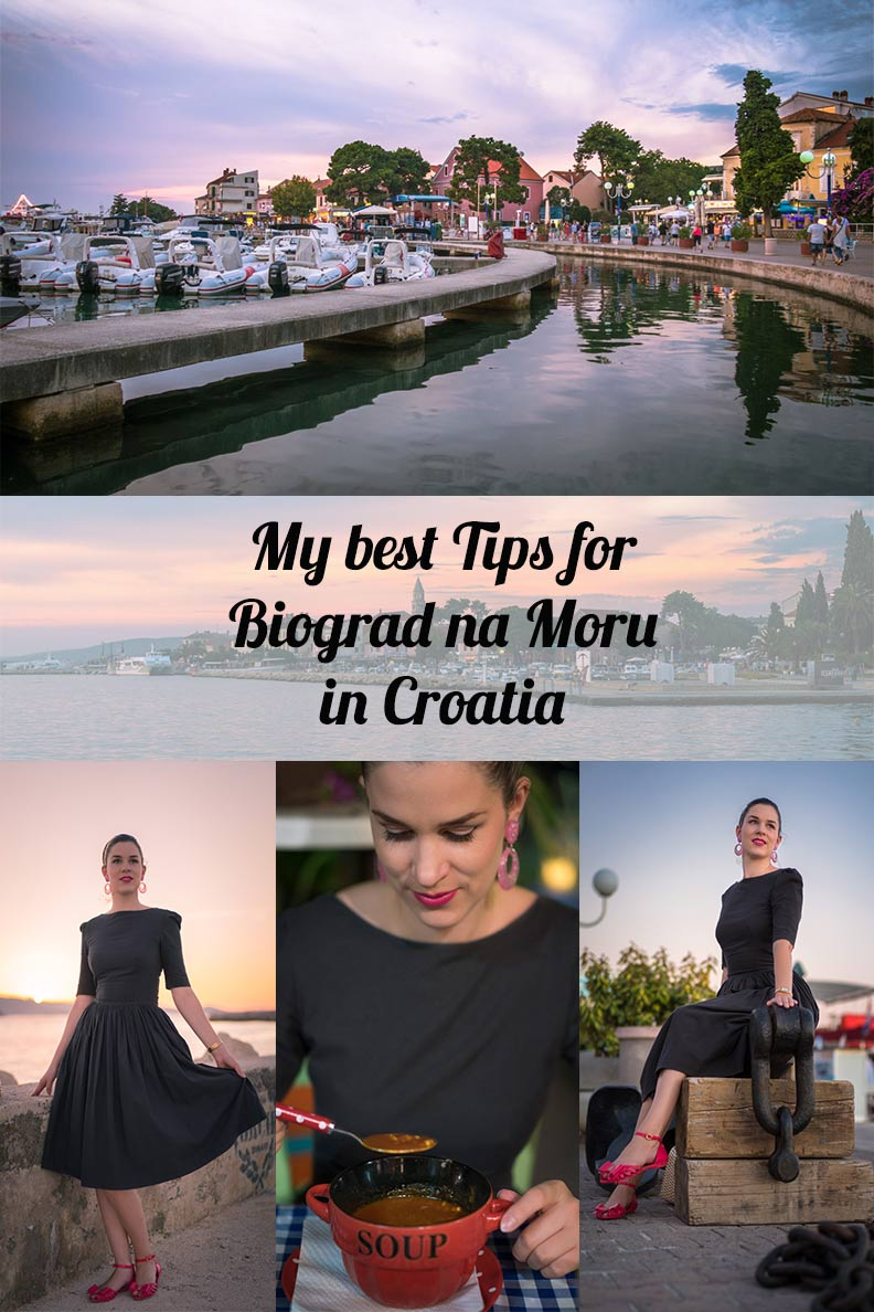 My best travel tips for the city Biograd na Moru in Croatia