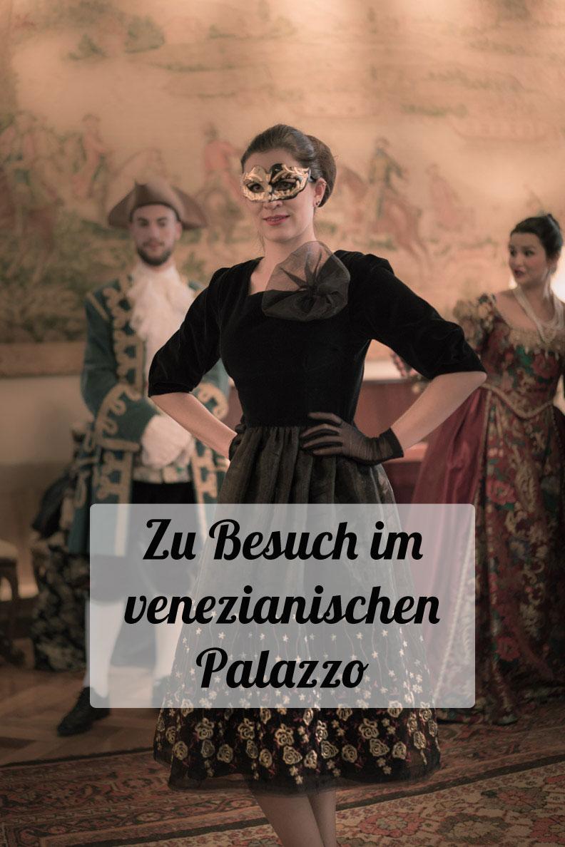 RetroCat zu Besuch im venezianischen Palazzo mit dem Ballroom Dress von Grünten Mode
