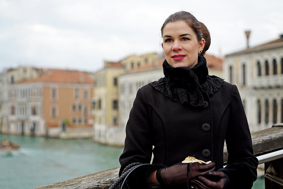 Mein Style-Tagebuch: RetroCat in einem Reise-Outfit in Venedig