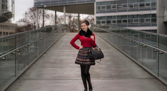 Mein Style-Tagebuch: Outfit-Ideen für Weihnachtsfeiern und das Winter-Tollwood München