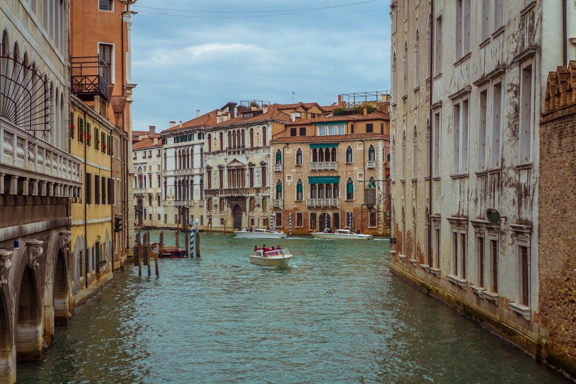 Die Wasserstraßen Venedigs